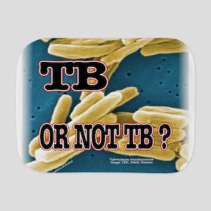 Tb or Not TB Burp Cloth