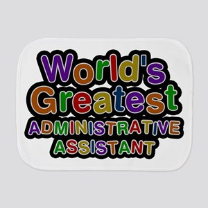 World's Greatest Administrative Assistant Burp Clo