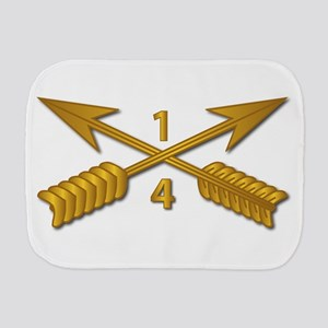 4th Bn 1st Sfg Branch Wo Txt Burp Cloth