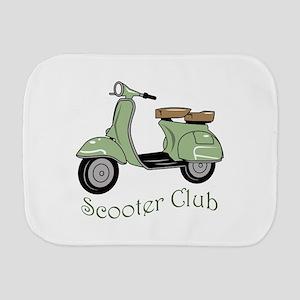 Scooter Club Burp Cloth
