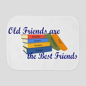 Books Best Friends Burp Cloth
