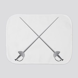Rapier Swords Burp Cloth
