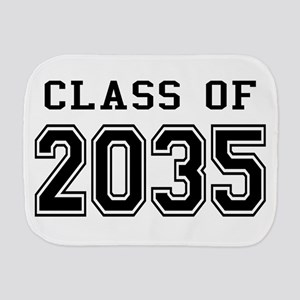 Class of 2035 Burp Cloth