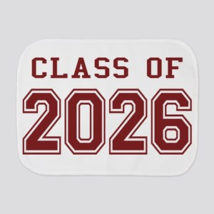 Class of 2026 (Red) Burp Cloth