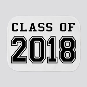 Class of 2018 Burp Cloth