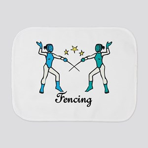 Fencing Burp Cloth