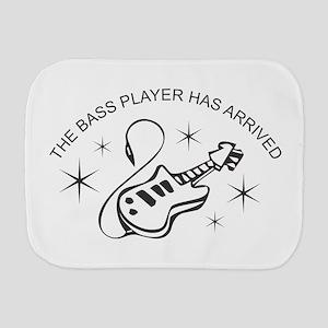 Bass Player Burp Cloth