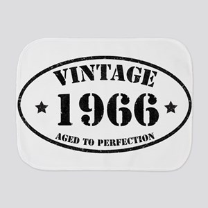Vintage Aged to Perfection 1966 Burp Cloth