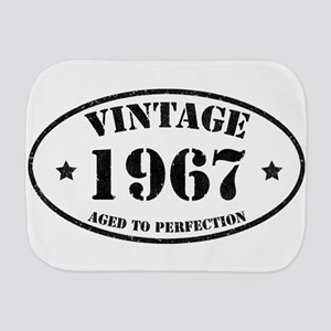 Vintage Aged to Perfection 1967 Burp Cloth