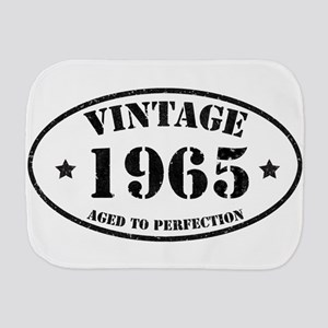 Vintage Aged to Perfection 1965 Burp Cloth