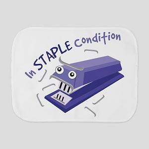 In Staple Condition Burp Cloth