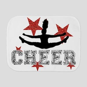 Cheerleader Burp Cloth