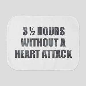 3 1/2 Hours w/o Heart Attack Burp Cloth