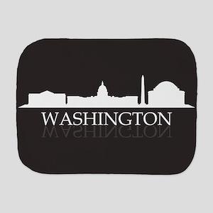 skyline washington Burp Cloth