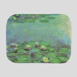 Waterlilies by Claude Monet Burp Cloth