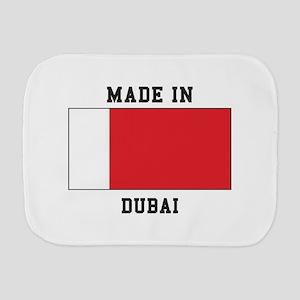 Made In Dubai Burp Cloth