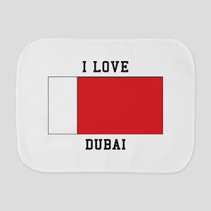 I Love Dubai Burp Cloth