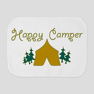 Happy Camper Burp Cloth