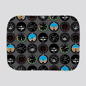 Flight Instruments Burp Cloth