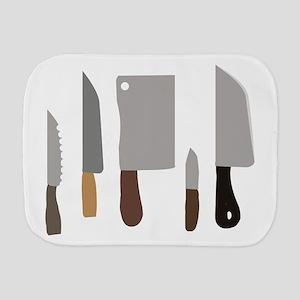 Chef Knives Burp Cloth