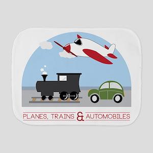 Planes,Trains& Automobiles Burp Cloth