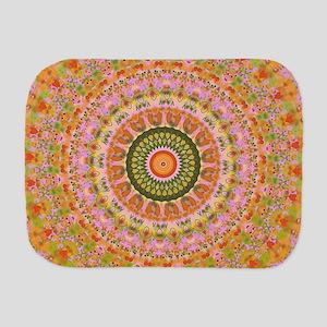 Happy Hippy Mandala Burp Cloth