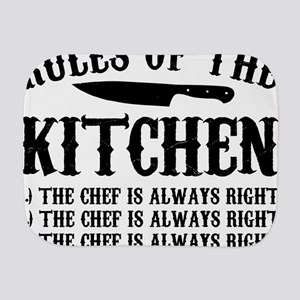Rules of the Kitchen Burp Cloth