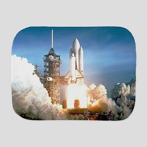 Space Shuttle Columbia KSC Burp Cloth