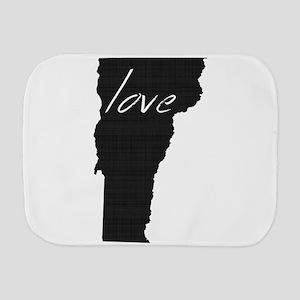 Love Vermont Burp Cloth