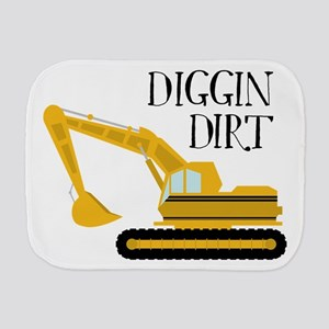 Diggin Dirt Burp Cloth