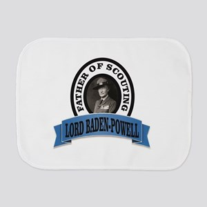 Father of scouts bp Burp Cloth