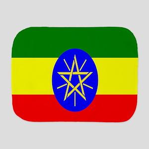 Flag of Ethiopia Burp Cloth