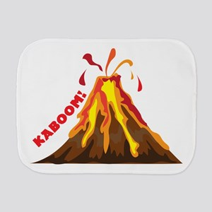 Volcano Kaboom Burp Cloth