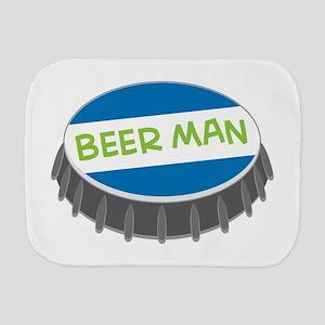 Beer Man Burp Cloth