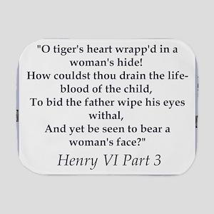 O Tigers Heart Burp Cloth