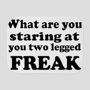 Two legged Freak Burp Cloth