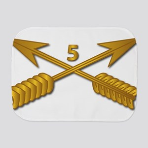 5th SFG Branch wo Txt Burp Cloth