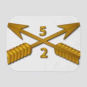 2nd Bn 5th SFG Branch wo Txt Burp Cloth