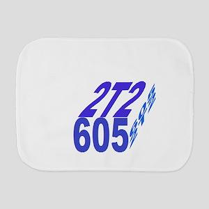 2tt2/605 cube Burp Cloth