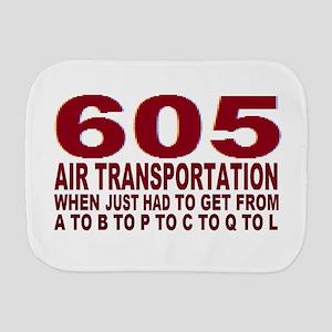 605 air trans Burp Cloth