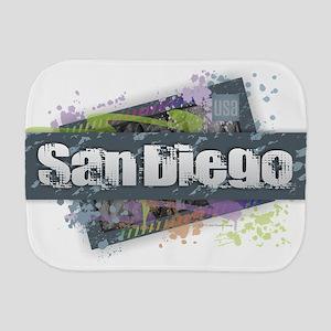 San Diego Design Burp Cloth