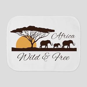 Wild & Free Burp Cloth