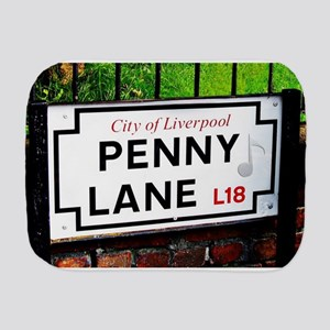 Penny Lane liverpool England Sign with Burp Cloth