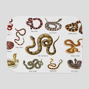 snakes Burp Cloth