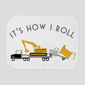 It's How I Roll Burp Cloth