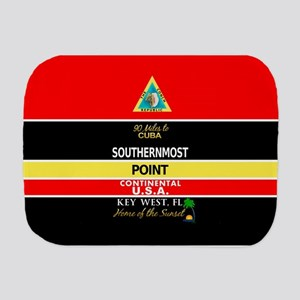Southernmost Point Buoy Key West Burp Cloth
