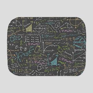 Math Lessons Burp Cloth