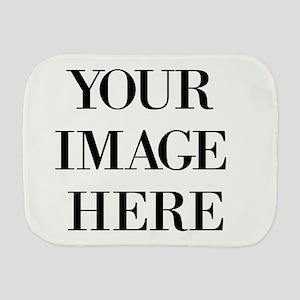 Your Photo Here Design Burp Cloth