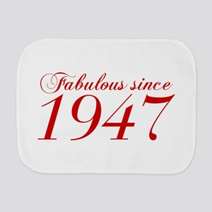 Fabulous since 1947-Cho Bod red2 300 Burp Cloth