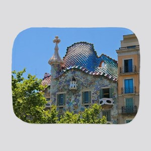 Gaudi's Casa Batllo Burp Cloth